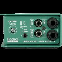 Radial DI convertisseur stéréo -10/+4 dB J-ISO - Vue 4