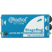 Radial DI active pour instruments acoustiques SB-1 Acoustic - Vue 2