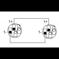 Cordial Câble h.p. Speakon 2 points 1,5 m - Vue 2