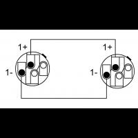 Cordial Câble h.p. Speakon 2 points 2,5 m - Vue 2