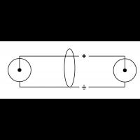 Cordial Câble audio double Rca 6 m - Vue 2