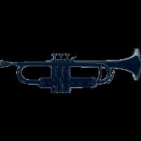 Coolwind Trompette Sib en plastique noir - Vue 1