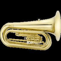 Jupiter Tuba de défilé verni JTU1030M - Vue 1