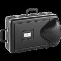 Jupiter Mellophone de défilé argenté JMP1000MS - Vue 2