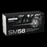 Shure SM58-LCE - Vue 3