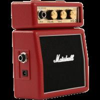 Marshall Mini-ampli MS2 Rouge 2W - Vue 1