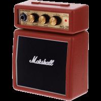 Marshall Mini-ampli MS2 Rouge 2W - Vue 2