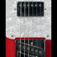 G&L Tribute ASAT Classic Bluesboy Semi Hollow Redburst - Vue 5