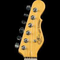 G&L Tribute ASAT Classic Bluesboy Semi Hollow Redburst - Vue 6