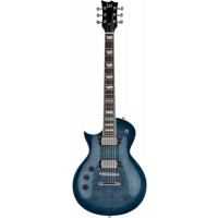 Ltd EC-256LH cobalt blue gaucher - Vue 1