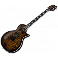 Ltd EC-1000 evertune dark brown sunburst - Vue 2