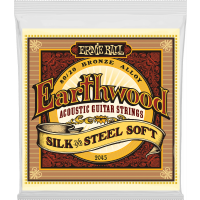 Ernie Ball Earthwood 80/20 bronze soft - silk&steel 11-52 - Vue 1