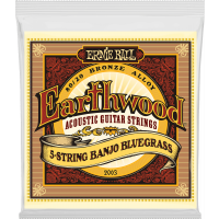 Ernie Ball Earthwood 80/20 bronze banjo bluegrass 9-20 - Vue 1