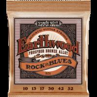Ernie Ball Earthwood phosphore bronze rock n blues 10-52 - Vue 1