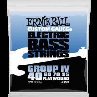Ernie Ball Flatwound group IV 40-95 - Vue 1