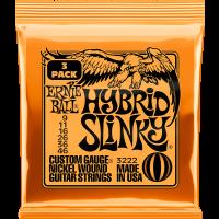 Ernie Ball Hybrid slinky 9-46 - pack de 3 - Vue 1