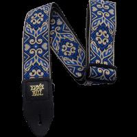 Ernie Ball Sangle jacquard tribal blue - Vue 1