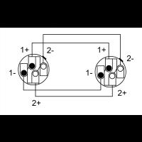 Cordial Câble haut-parleur speakon 4 points 4x 4mm² - 2.5m - Vue 2