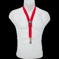 BG Cordon standard rouge pour saxo - mousqueton métal - Vue 1