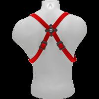 BG Harnais rouge pour saxo - mousqueton - homme - Vue 3
