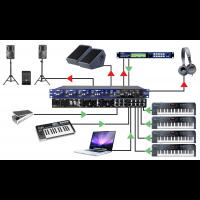 Radial Station de mixage pour claviers rackable KL-8 - Vue 4