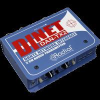 Radial Émetteur audio 2 canaux Dante DAN-TX2 - Vue 1