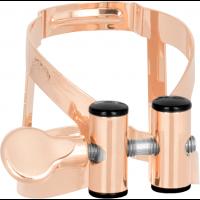 Vandoren Ligature M/O or rose saxo soprano + couvre-bec plastique - Vue 1