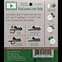 Sml Accessoires Key Leaves - Vue 4