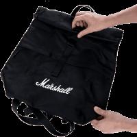Marshall Sac à dos Seeker Black White - Vue 7