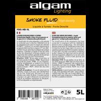 Algam Lighting Liquide à fumée, forte densité 5 litres - Vue 2