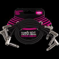 Ernie Ball Cables instrument patch pack de 3 - coudé fin & plat - 30 cm - Vue 1