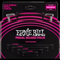 Ernie Ball Cables instrument patch multipack - coudé fin & plat - Vue 2