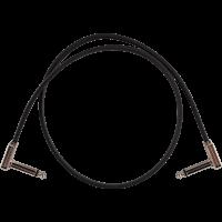 Ernie Ball Cables instrument patch - coudé fin & plat - 60 cm - Vue 1