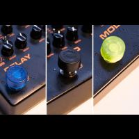 Nux NST1 capuchons de couleur pour footswitchs - Vue 3