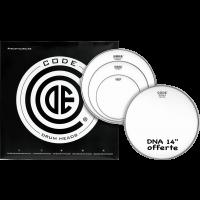 Code Drumheads GENERATOR Sablée pack fusion 10