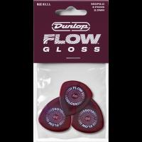 Dunlop Flow Gloss 2 mm, player's pack de 3 - Vue 1