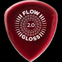 Dunlop Flow Gloss 2 mm, player's pack de 3 - Vue 3
