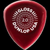 Dunlop Flow Gloss 2 mm, player's pack de 3 - Vue 4
