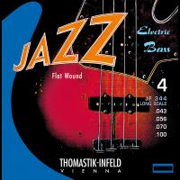 Thomastik Jeu Basse Jazz Flat Wound 43-100 - Vue 1