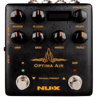Nux Optima Air pédale de préampli / simulateur guitares acoutiques (IR) - Vue 1