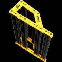Nux Pedalboard Bumble-Bee Medium avec housse de transport - Vue 3