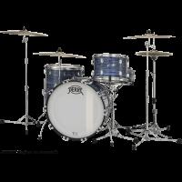 Pearl President Deluxe 3 fûts fusion Ocean Ripple - Vue 1