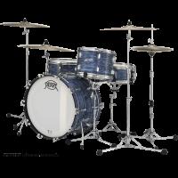 Pearl President Deluxe 3 fûts fusion Ocean Ripple - Vue 2