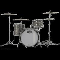 Pearl President Deluxe 3 fûts fusion Desert Ripple - Vue 1
