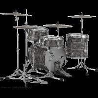 Pearl President Deluxe 3 fûts fusion Desert Ripple - Vue 3