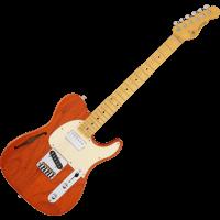 G&L Tribute ASAT Classic Bluesboy Semi Hollow Clear Orange - Vue 2
