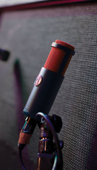 Micro ruban ampli guitare Shure KSM313