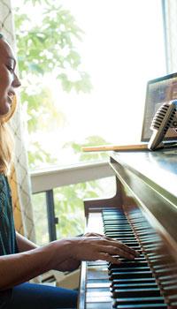 Micro piano Shure