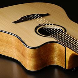 Pan coupe guitare acoustique